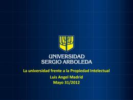Presentación de PowerPoint - Universidad Sergio Arboleda