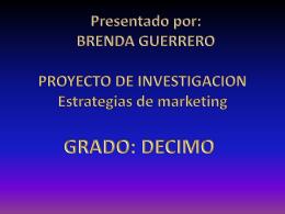 Diapositiva 1 - BrendaGuerrero