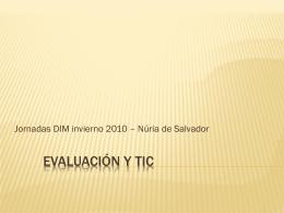 Evaluación y TIC