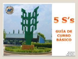 QUÉ NO SON LAS 5 S`s - Universidad Tecnológica de Aguascalientes