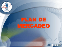 EMPRENDEDORES_APUNTES_ Plan de Mercadeo