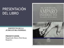 Presentación libro El juicio de Amparo Indirecto