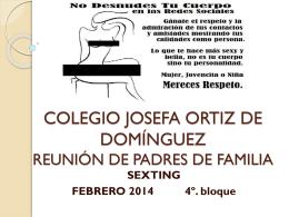 Descarga la guía - Colegio Josefa Ortíz de Domínguez
