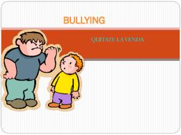 ¿Qué es el Bullying?