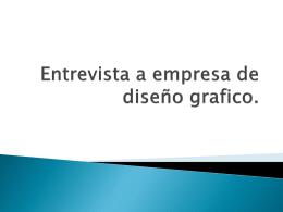 Entrevista a empresa de diseño grafico. - Over-blog