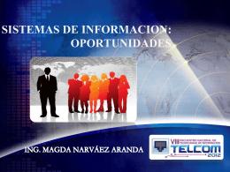 Sistemas de Información_Ing.Narvaez
