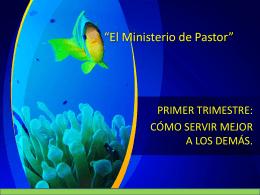 7. Ministerio de pastor
