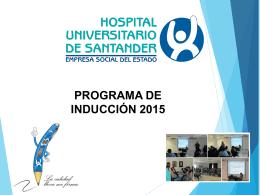1.Presentación institucional - Universidad Industrial de Santander