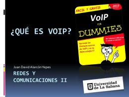 VoIP - 20101Redes2