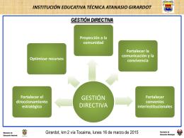 PMI - institución educativa técnica