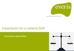 La visión de las empresas proveedoras. Everis. Sr. Marcos Vázquez