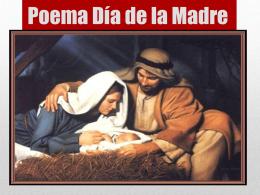 Poema Día de la Madre.
