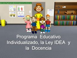 File - Educación Especial PR