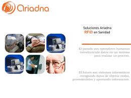 Soluciones Ariadna RFID en Sanidad (709 Kb )