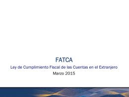 Presentación FATCA 17032015