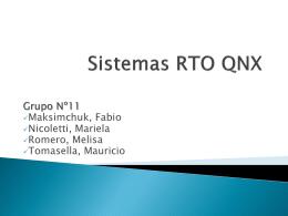 Presentacion QNX