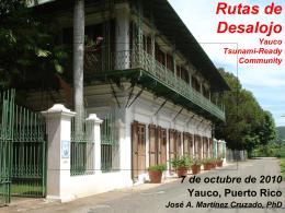 Rutas de Desalojo - Red Sísmica de Puerto Rico