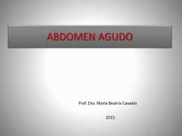 Abdomen Agudo Dra. Casadio