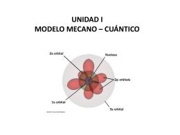 Modelo Mecanico Cuántico