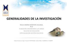 investigación cuantitativa - Fundación Universitaria Luis Amigó