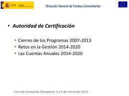 Autoridad de certificación - Plan Internacional de Navarra