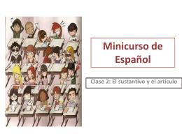 Minicurso de Español