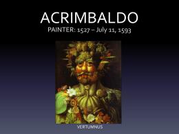 ACRIMBALDO - artedall.com