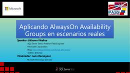 AlwaysOn Availability Groups