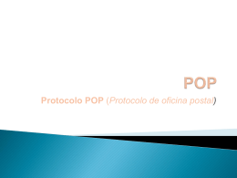 IMAP Y POP - ELECTIVATECNOLOGICA