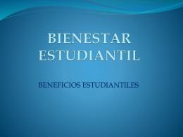 Bienestar Estudiantil - Facultad de Arquitectura y Urbanismo de la