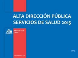 adp - Ministerio de Salud