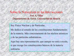 Chiral Symmetry and Unitarity José A. Oller Univ. Murcia, Spain