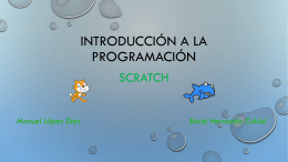 Presentacion Scratch