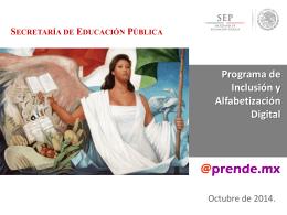Presentación Capacitación - Secretaría de Educación Pública