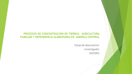 Eduardo Baumeister - International Land Coalition