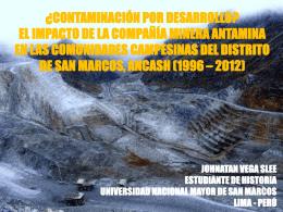 ¿Contaminación por desarrollo? El impacto de la