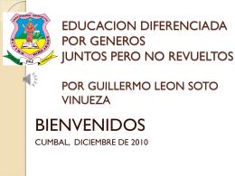 educacion diferenciada por generos