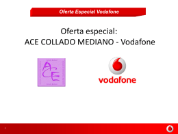 Oferta. - (ACE Collado Mediano).