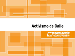 Activismo de Calle 3.0