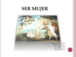 SER MUJER - magisteriogrupo3
