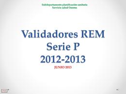 REM-P1: Población en Control Programa de Salud de la Mujer y