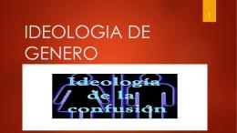 PPT Ideología de género - Cruzada Milicia en Perú