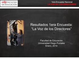 Presentacion-Encuest.. - Facultad de Educación