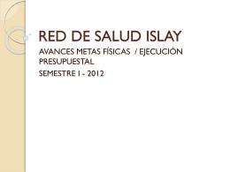 Diapositiva 1 - Gerencia Regional Salud Arequipa