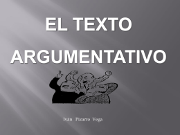 Argumentación - CONTINTAROJA.CL