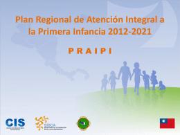 Plan Regional de Atención Integral a la Primera Infancia - giz