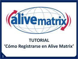 3 www.alivematrix.com - Como calificar para comisiones