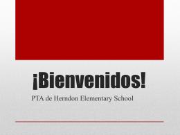 Welcome! - Herndon PTA
