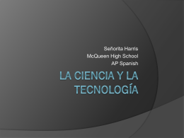 Power Point La Tecnologia