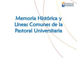 Diapositiva 1 - Pastoral Universitaria de Venezuela